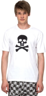 Nuteez Graphic Print Men's Round Neck T-Shirt