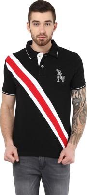 Monteil & Munero Solid Men's Polo Neck T-Shirt