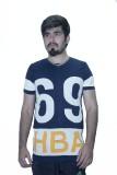 Khaiber Graphic Print Men's V-neck Dark ...