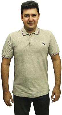 Sacoor Solid Men's Polo Neck T-Shirt