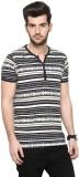 Cayman Printed Men's Henley Beige T-Shir...