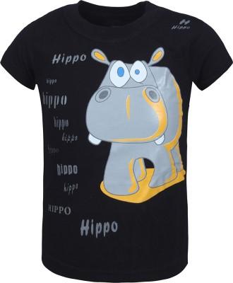 Jazzup Printed Baby Boy's Round Neck T-Shirt