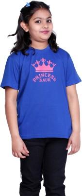 Clotone Printed Girl's Round Neck T-Shirt