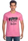 Livestash Printed Men's Round Neck Multi...