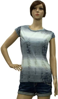 Wearsense Printed Women's Round Neck T-Shirt