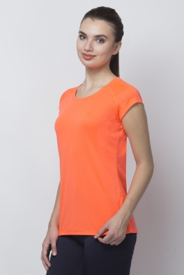 OCTIVE Solid Women's Round Neck T-Shirt