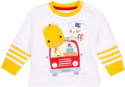 Fisher-Price Printed Boy's Round Neck T-Shirt