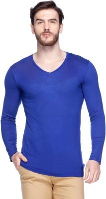 Tinted Solid Men's V-neck T-Shirt