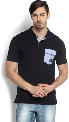Kingaroo Solid Men's Polo Neck T-Shirt
