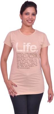 Jevaraz Printed Women's Round Neck T-Shirt
