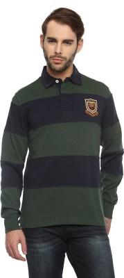 Gant Solid Men's Flap Collar Neck T-Shirt