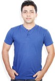 Evermore Stores Solid Men's Henley Light...