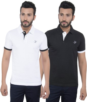 GreyBooze Solid Men's Polo T-Shirt