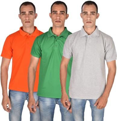 Venga Solid Men's Polo Neck T-Shirt