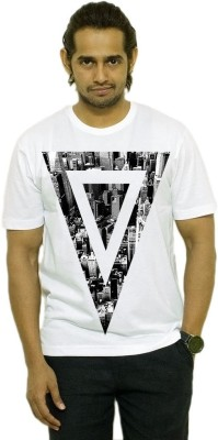 Opiumstreet Printed Men's Round Neck T-Shirt