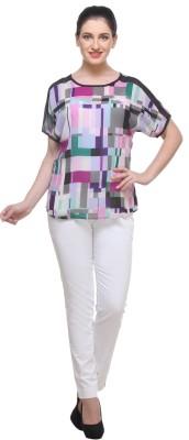 GRESHADESIGNER Printed Women's Round Neck T-Shirt