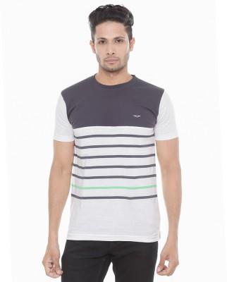 Wexford Striped Men's Round Neck Multicolor T-Shirt
