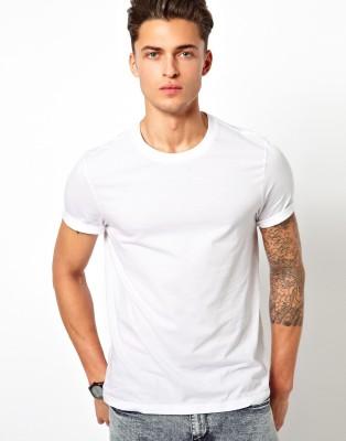 BRANDX Solid Men's Round Neck T-Shirt