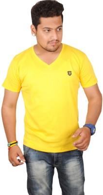 TLH Solid Men's V-neck T-Shirt