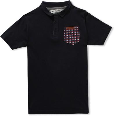Ben Sherman Solid Boy's Polo T-Shirt