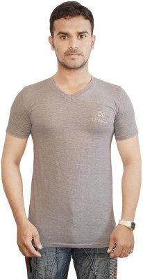 Al-Harsha Trend Solid Men's V-neck T-Shirt