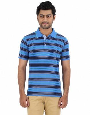 CH Striped Men's Polo Multicolor T-Shirt