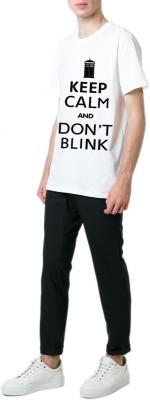 13th Avenue Printed Men's Round Neck Black T-Shirt