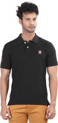 Purple Haze Solid Men's Polo Neck T-Shirt