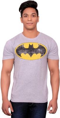 styzon Printed Men,s, Boy's Round Neck Grey, White T-Shirt