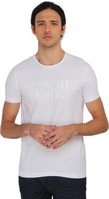 Calvin Klein Solid Men's Round Neck T-Shirt