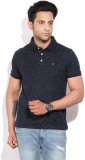 Arrow Sports Printed Men's Polo Neck Dar...