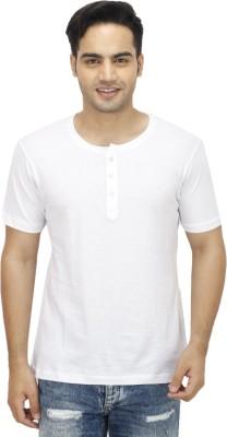 Ishmeet Solid Men's Henley T-Shirt