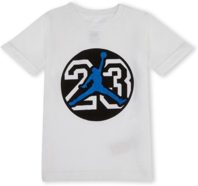 Jordan Graphic Print Boy's Round Neck T-Shirt
