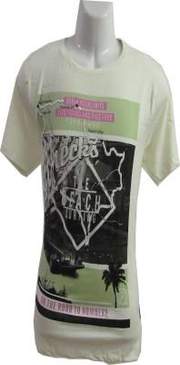 Revinfashions Graphic Print Men's Round Neck Black T-Shirt