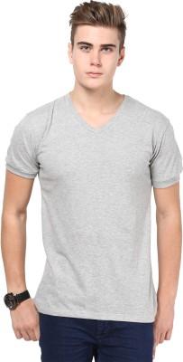 Inkovy Solid Men's V-neck T-Shirt