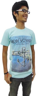 Prage Printed Men's Round Neck T-Shirt