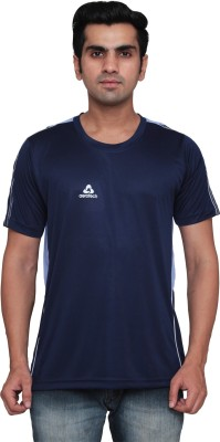 Aerotech Solid Men's Round Neck T-Shirt