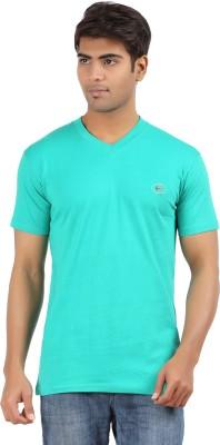 Five Elements Solid Men's V-neck T-Shirt