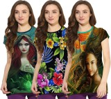 So Sweety Girls Printed (Multicolor)