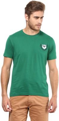 FUNK Printed Men's Round Neck Green T-Shirt