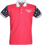 Palm Tree Boys Solid (Red)