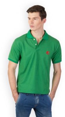 Kapapai Solid Men's Polo Neck T-Shirt