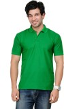 TSX Sportsman Solid Men's Polo Neck Gree...