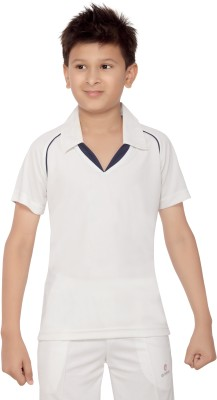 Omtex T- shirt For Boys(White)