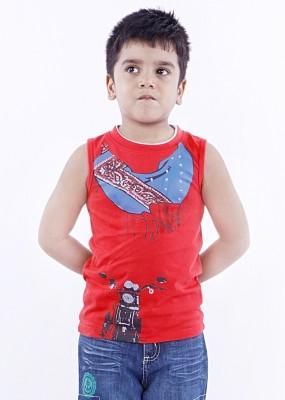Milou Graphic Print Boy's Round Neck T-Shirt