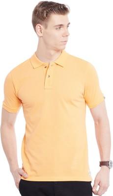 Jogur Solid Men's Polo Beige T-Shirt
