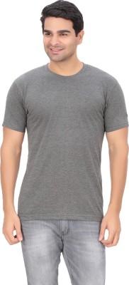 Indian Engineer Solid Men's Round Neck Grey T-Shirt