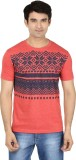 Minute Merge Printed Men's Round Neck Re...