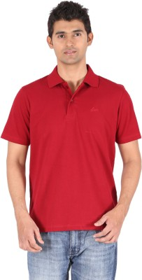 Furore Solid Men's Polo Maroon T-Shirt