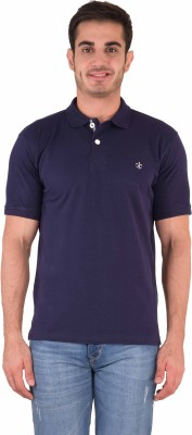Kingswood Embroidered Men's Polo Blue T-Shirt
